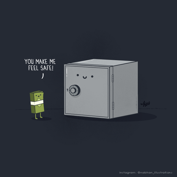 Witty Illustrations By Nabhan Abdullatif: Visual Puns With