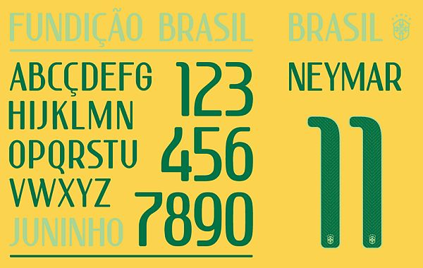 World Cup 2014 Fonts by Nike. ""