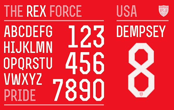 World Cup 2014 Fonts by Nike - PIXEL77