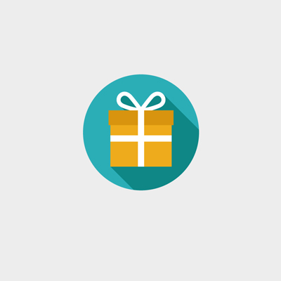 Free Vector of the Day #615: Gift Icon Vector