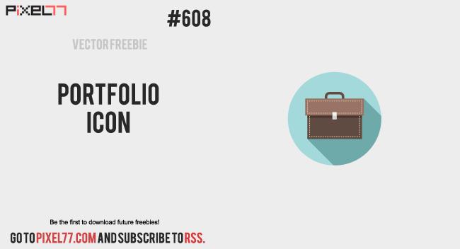 Download  Portfolio Icon Vector for FREE.