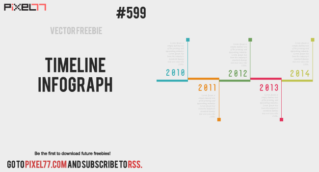 Download Timeline Infograph Vector for FREE.