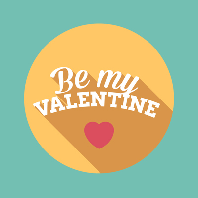 Free Vector of the Day #603: Valentine's Day Design Icon
