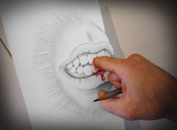 Anamorphic-Pencil-Art-by-Alessandro-Diddi-2