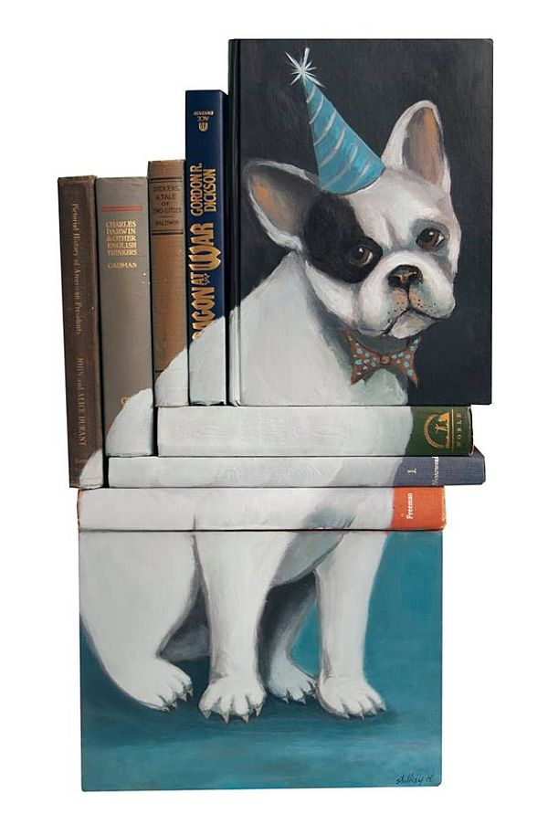 Artist-of-the-Week-Art-Painted-on-Stacks-of-Books-by-Mike-Stilkey-4