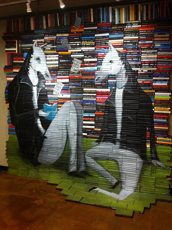 Artist-of-the-Week-Art-Painted-on-Stacks-of-Books-by-Mike-Stilkey-8