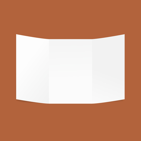 Free Vector of the Day #630: Folded Paper Sheet Vector