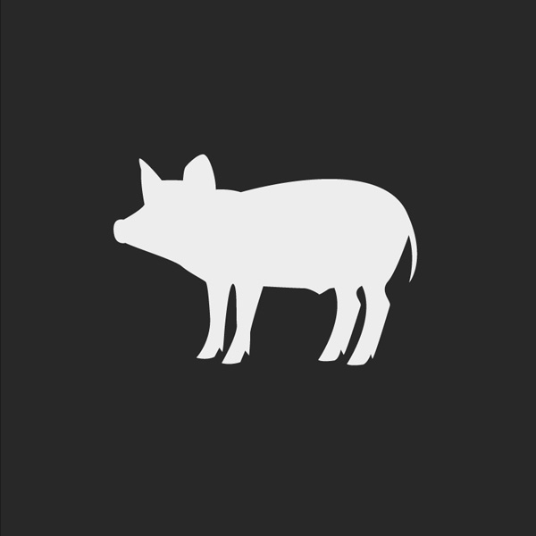 Free Vector of the Day #634: Piglet Silhouette Vector