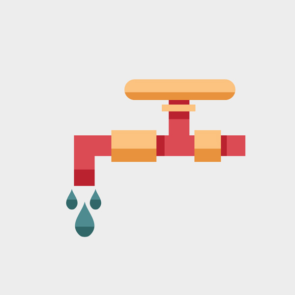 Free Vector of the Day #639: Water Tap Vector