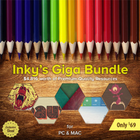 Deal of the Week: Inky's Giga Bundle with $4,816 worth of Premium-Quality Resources – Only $69