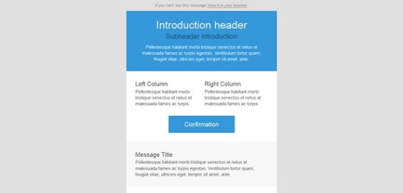 8 Free New Responsive Email Templates
