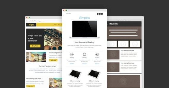 8 free new responsive email templates for Responsive stylesheet template