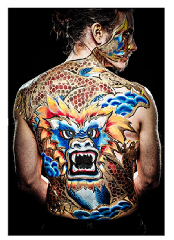 Artist of the Week: Body Paintings by Emma Fay