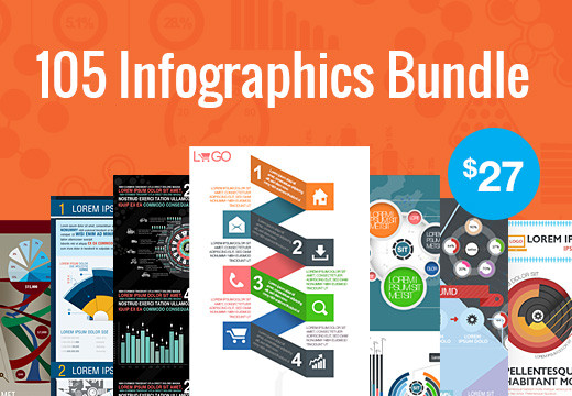 Deal of the Week: The Infographic Super Bundle – 105 Awesome RF Templates for Just $27
