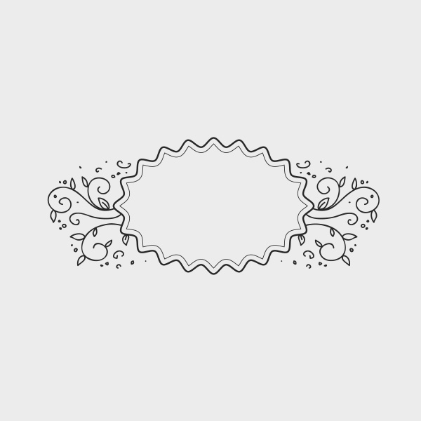 Free Vector of the Day #662: Doodle Frame Vector