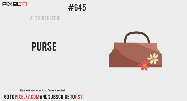 Download Purse Vector for FREE.