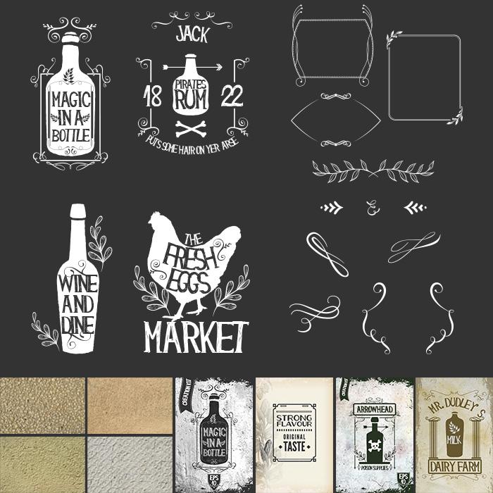 Freebie of the Week: The Super Premium Vintage Typography Kit