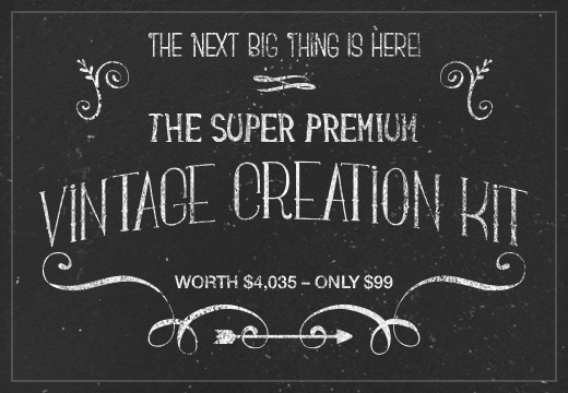 Deal of the Week: The Super Premium Vintage Typo Creation Kit worth $4,035 – Only $99