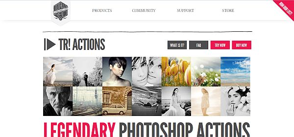 10 Sites to Get Photoshop Actions