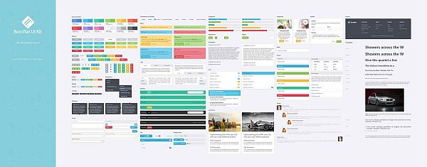 Top 15 Web and Mobile GUI Kits and Wireframe Templates - PIXEL77