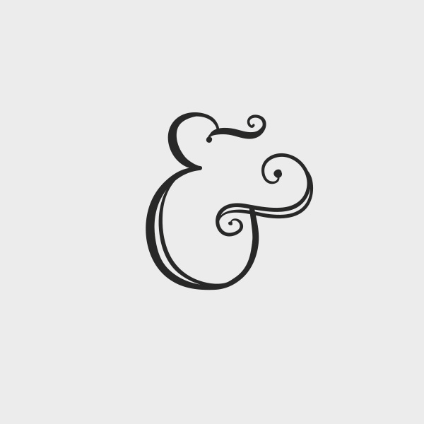 Free Vector of the Day #681: Ampersand Vector