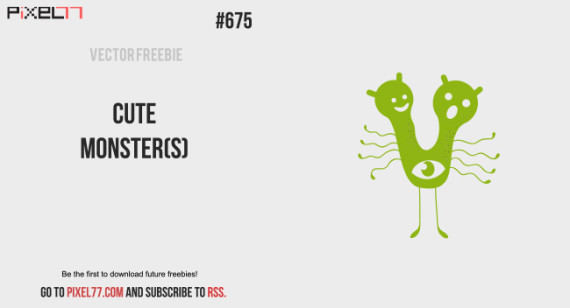 Free Vector. Download Cute Monster(s) for FREE.