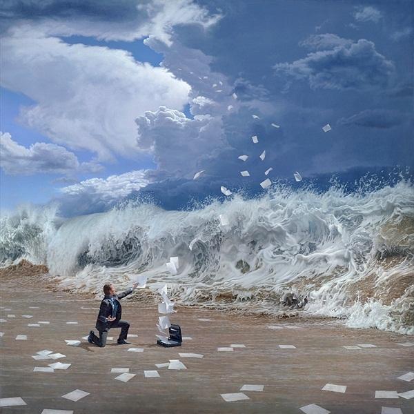 Amazing Surreal Oil Paintings by Joel Rea