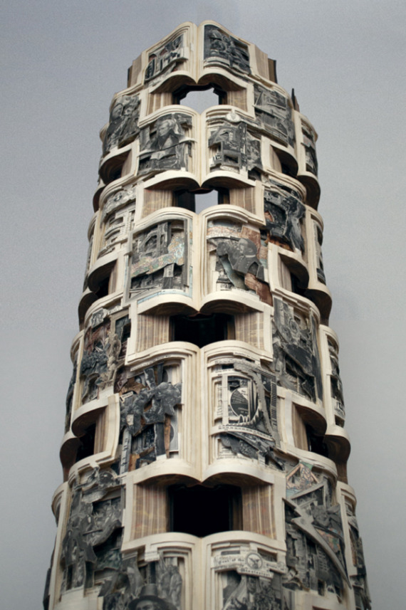 Artist-of-the-Week-Sculptural-book-art-by-Brian-Dettmer-1