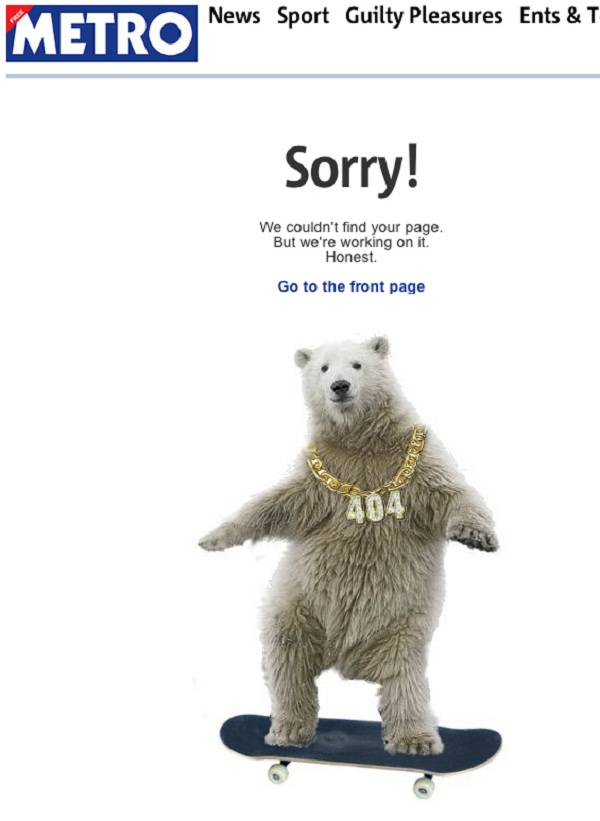 Top 8 error pages that keeps visitors on your site