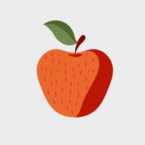 Free Vector of the Day #697: Vector Apple