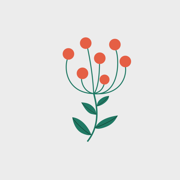 Free Vector of the Day #705: Doodle Flower Vector