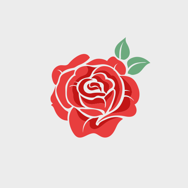 Free Vector Of The Day 686 Vector Rose Pixel77