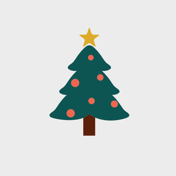 Free Vector of the Day #703: Christmas Tree Vector
