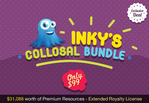 Deal of the Week: Inky's Colossal Birthday Bundle – $31,088 worth of Premium Resources at Only $99