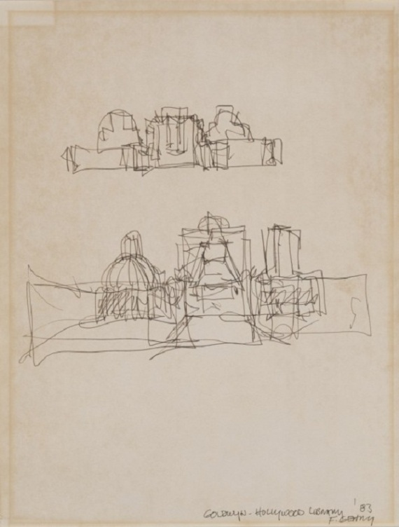 Early-Drawings-of-Famous-Architects-4