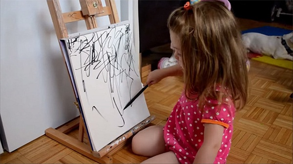 Talented Mommy Inspired by Her Two Year Old Drawings