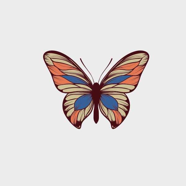 Free Vector of the Day #712: Vector Butterfly