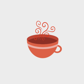 Free Vector of the Day #729: Vector Tea Cup