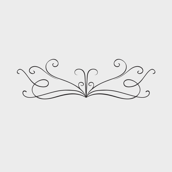 Free Vector of the Day #715: Vintage Ornament Vector