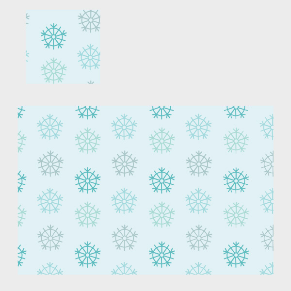 Free Vector of the Day #721: Winter Pattern Vector