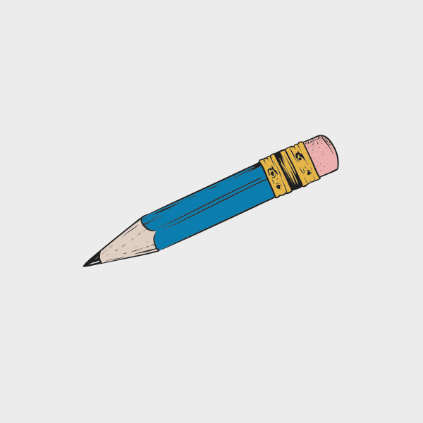 Free Vector of the Day #718: Vector Pencil