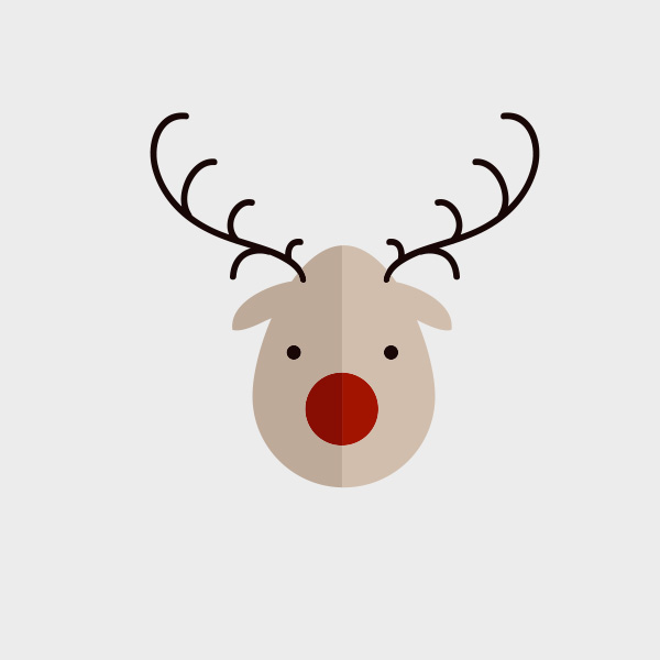 Free Vector of the Day #714: Vector Reindeer