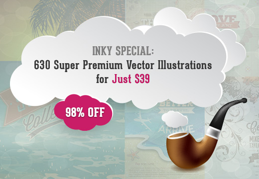 Freebie of the Week: Download 4 Top-Quality Vector Illustrations with Typography for Free