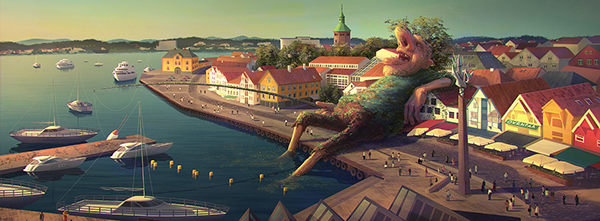 Artist of the Week: Amazing Digital Painting by Gediminas Pranckevicius