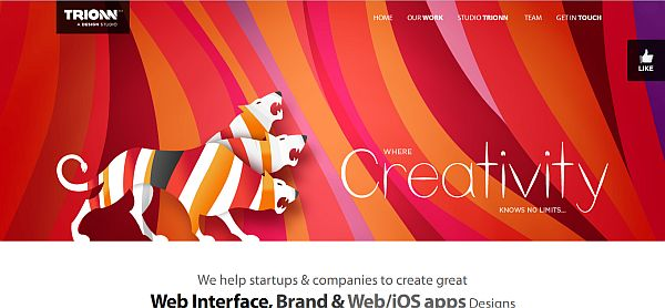 Top 15 Examples of One Page Websites