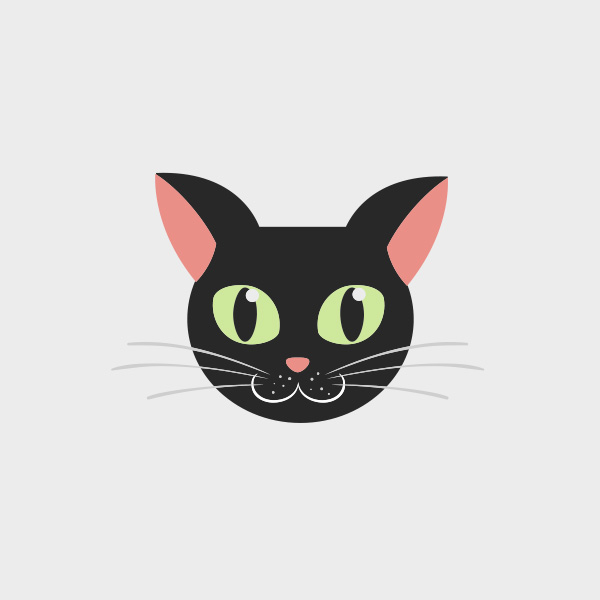 Free Vector of the Day #747: Vector Cat