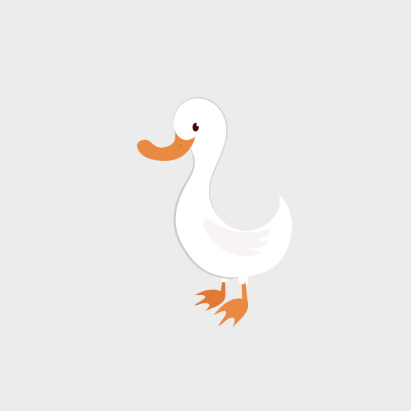 Free Vector of the Day #736: Vector Duck