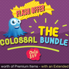 Deal of the Week: Get $32,518 worth of Premium Design Items with an Extended License – Only $69