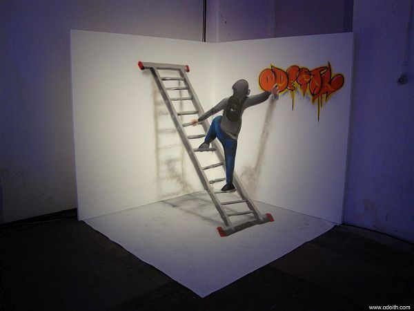 Artist Of The Week Incredible 3d Graffiti Illusions By Odeith