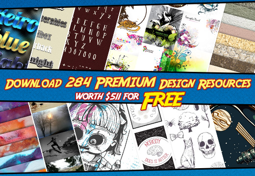 Freebie of the Week: Download 284 Premium Design Resources worth $511 for Free